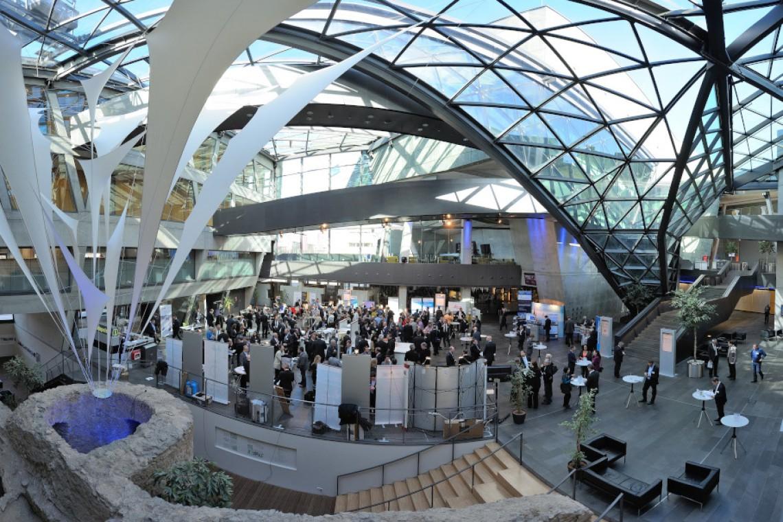 Übersicht Foyer, Urheber H. Ullmann, Quelle: www.darmstadtium.de